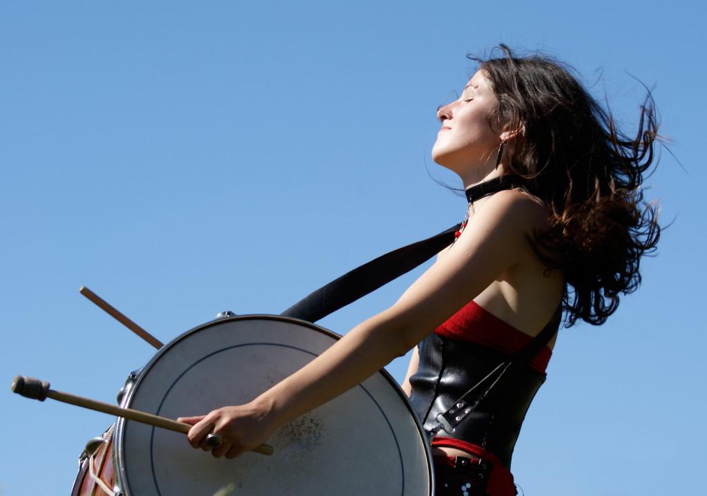 Brazilian Samba Drumming