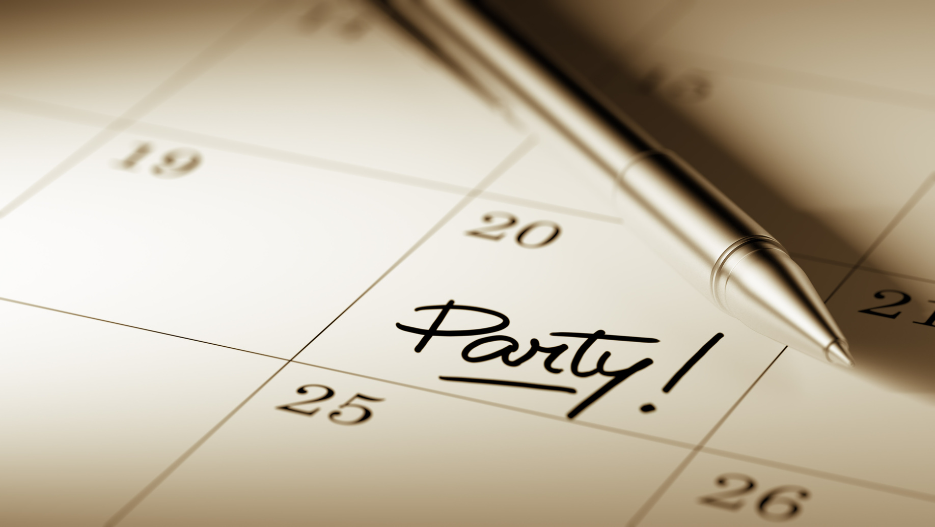 Party Planner Checklist